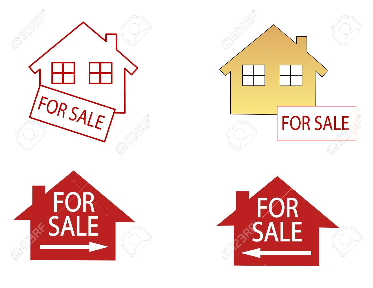 house for sale Stock Vector - 15129938