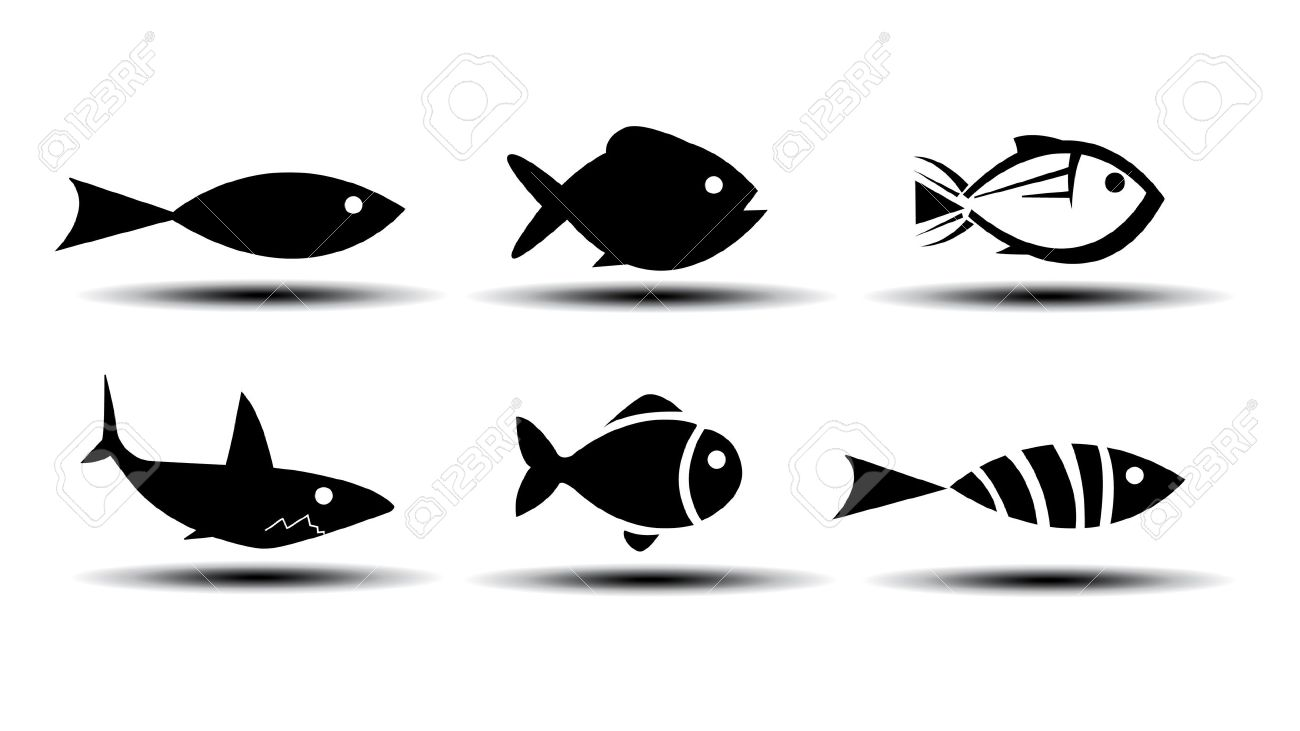 fish icons royalty free cliparts vectors and stock illustration rh 123rf com vector fish art vector fish image