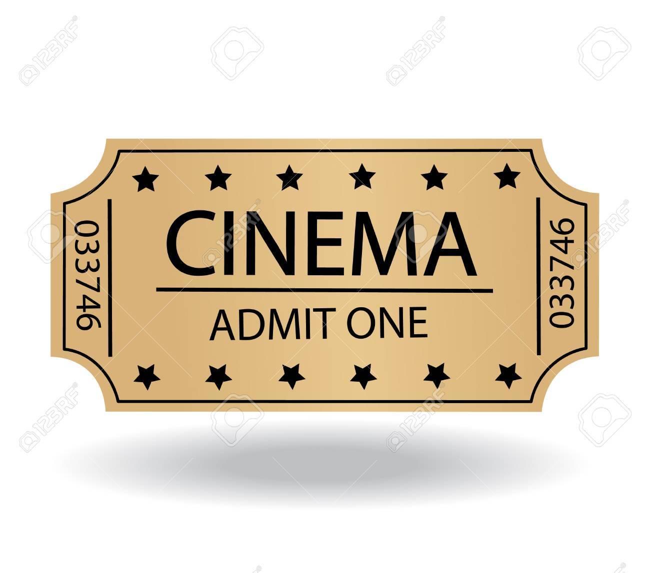 cinema tickets Stock Vector - 21863027