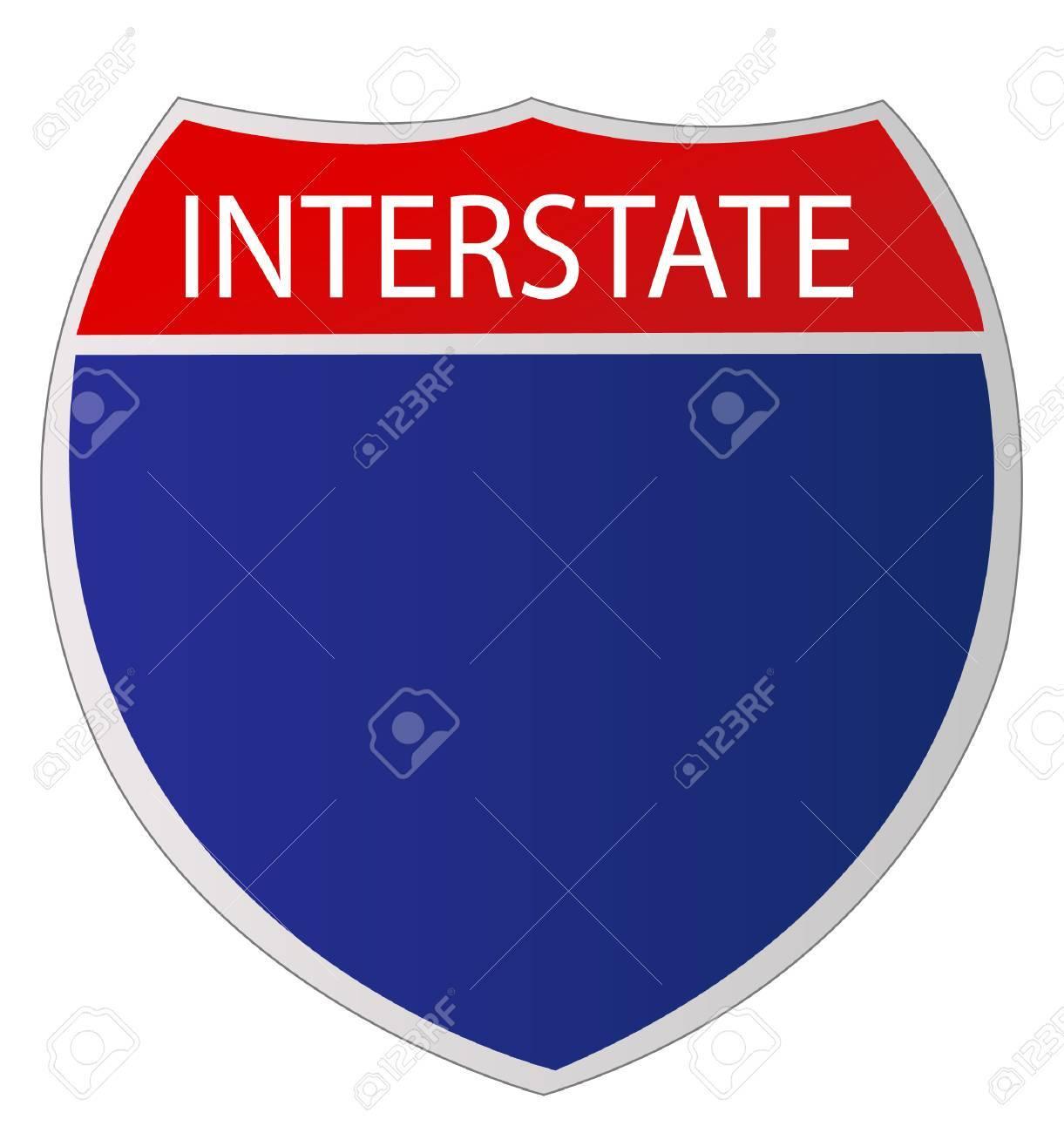 Interstate Sign - 26048891