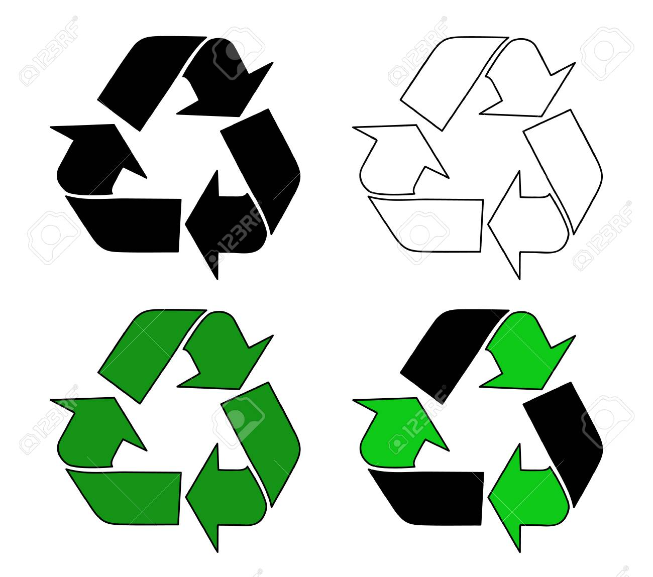 Recycle Symbol Royalty Free Cliparts Vectors And Stock