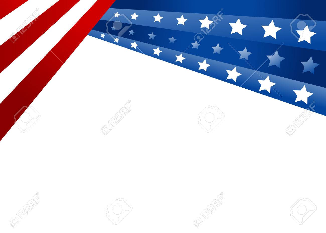 USA flag in style vector - 29414709