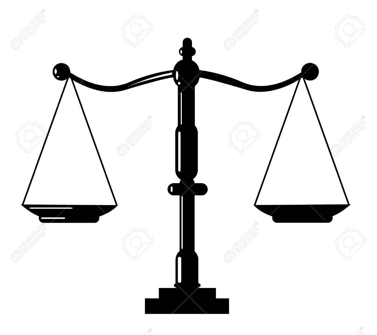 Justice scale icon - 31063659