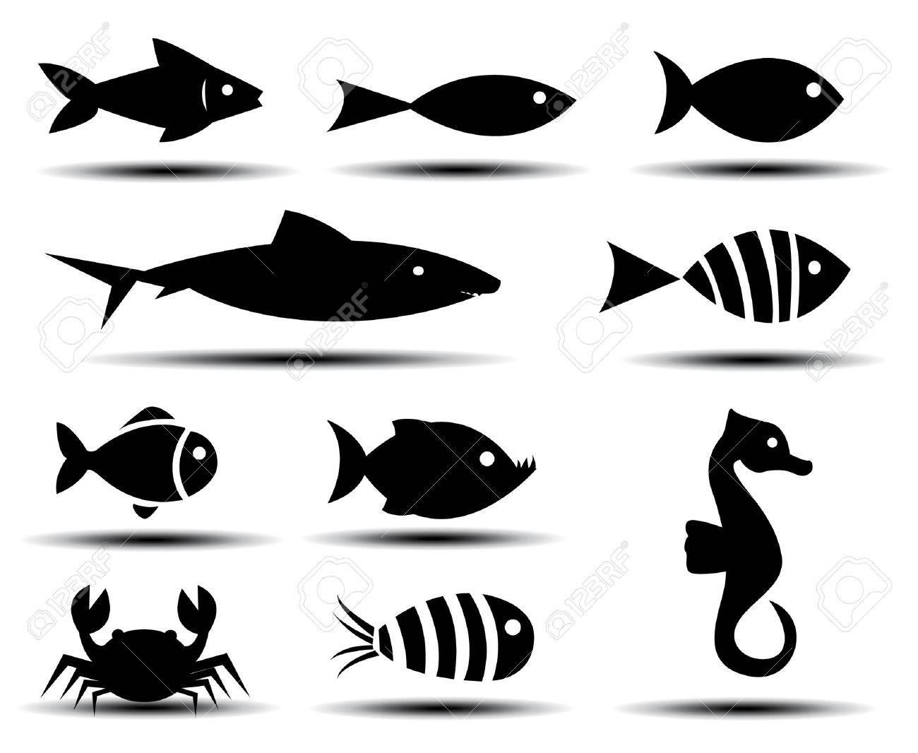 Fish Icons - 35335927