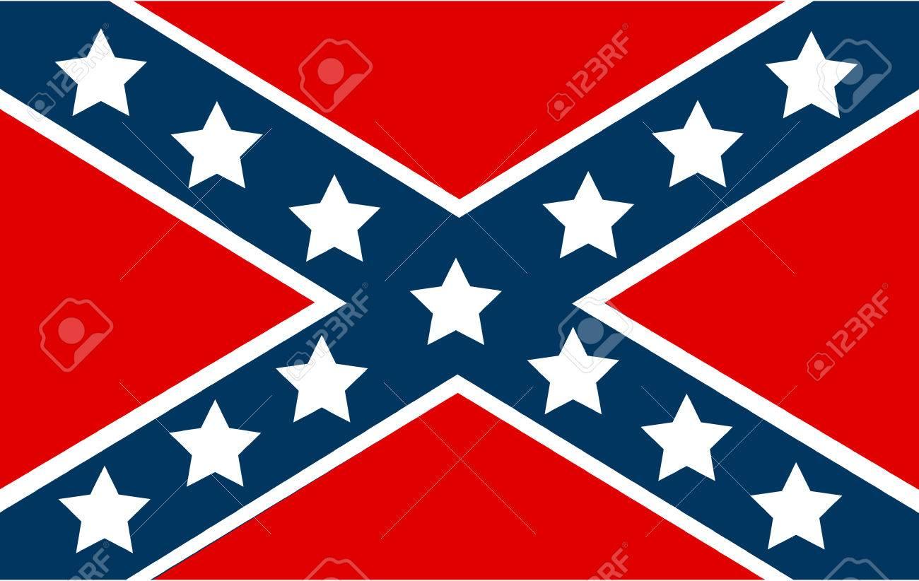 アメリカ連合国の国旗のイラスト素材・ベクタ - Image 63518034.