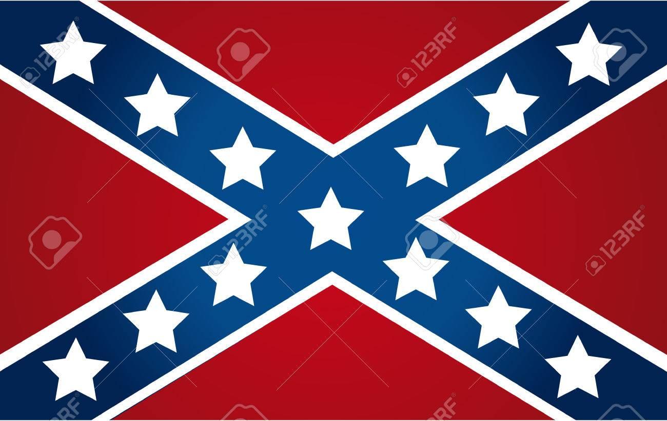 アメリカ連合国の国旗 ロイヤリ...