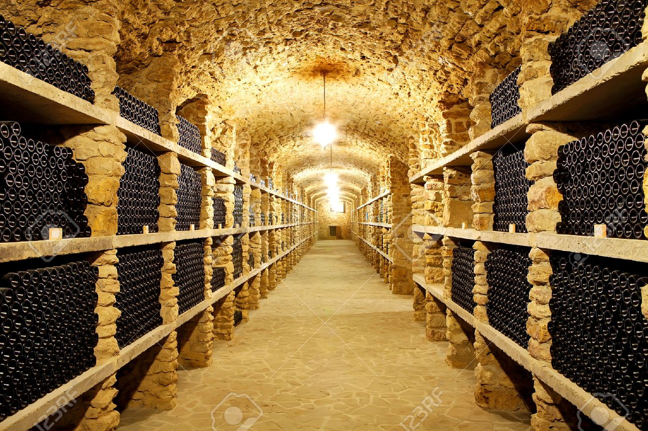 43609381-old-cellar-of-the-winery-bottle