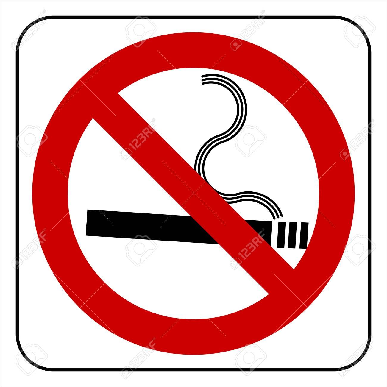 no smoking symbol, vector Stock Photo - 20240507