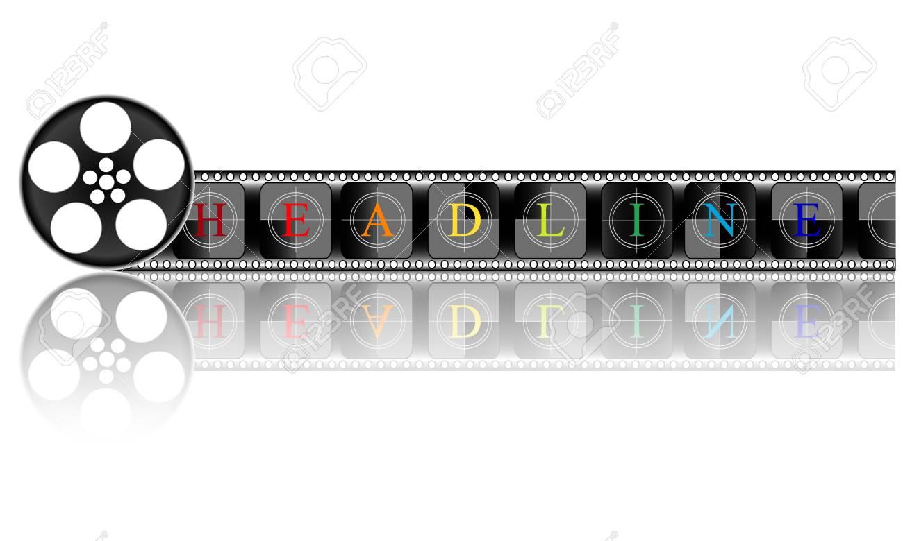 Media  Electronic HEADLINE Stock Photo - 21723986