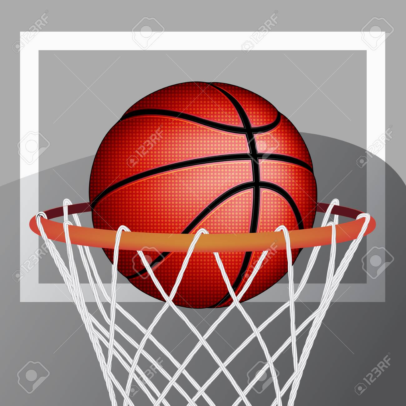 Basketball ball, vector Stock Vector - 29975161