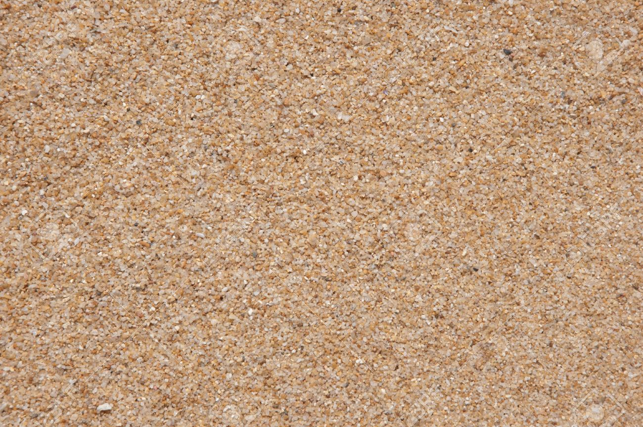 A Picture Of Beach Sand Texture Background Stock Photo