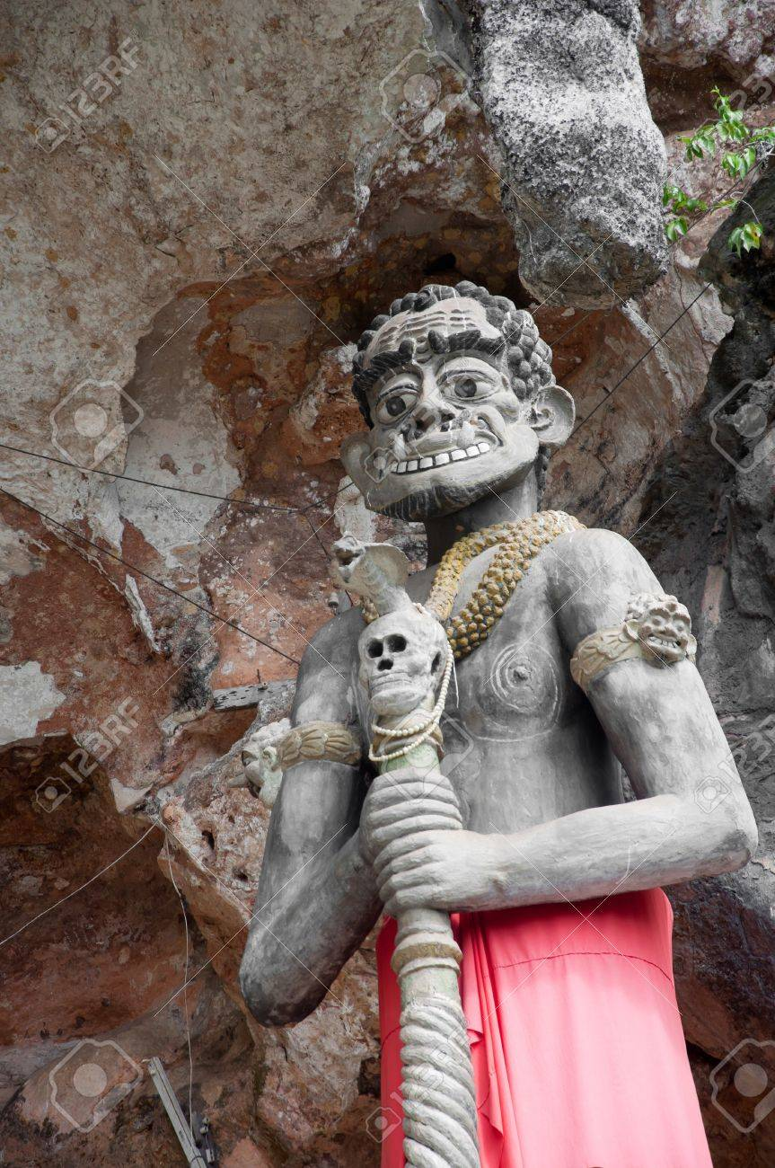 thai giant statue in yala cave temple, thailand Stock Photo - 11363163
