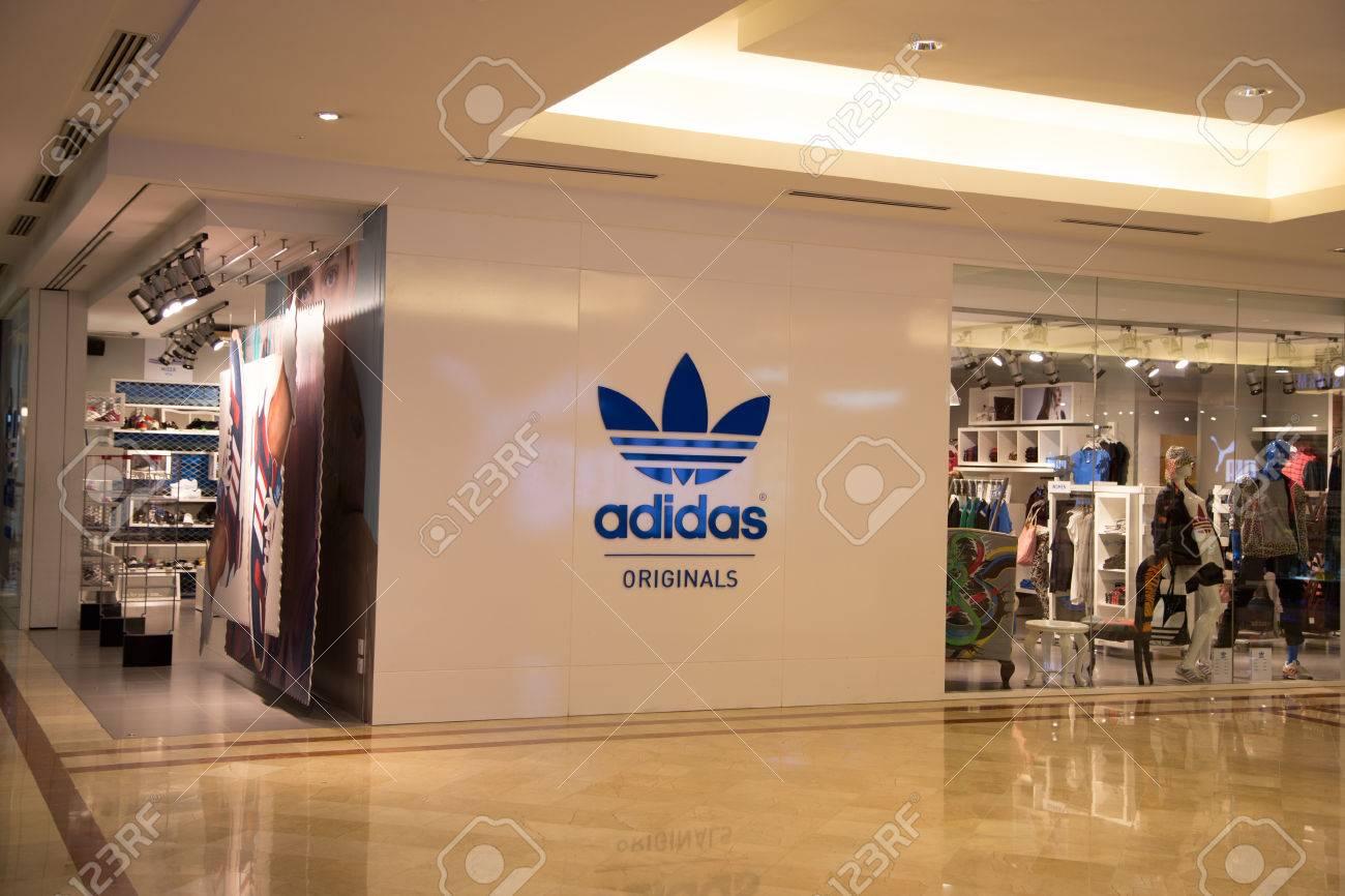 KUALA LUMPUR, MALAYSIA - SEP 27 Adidas