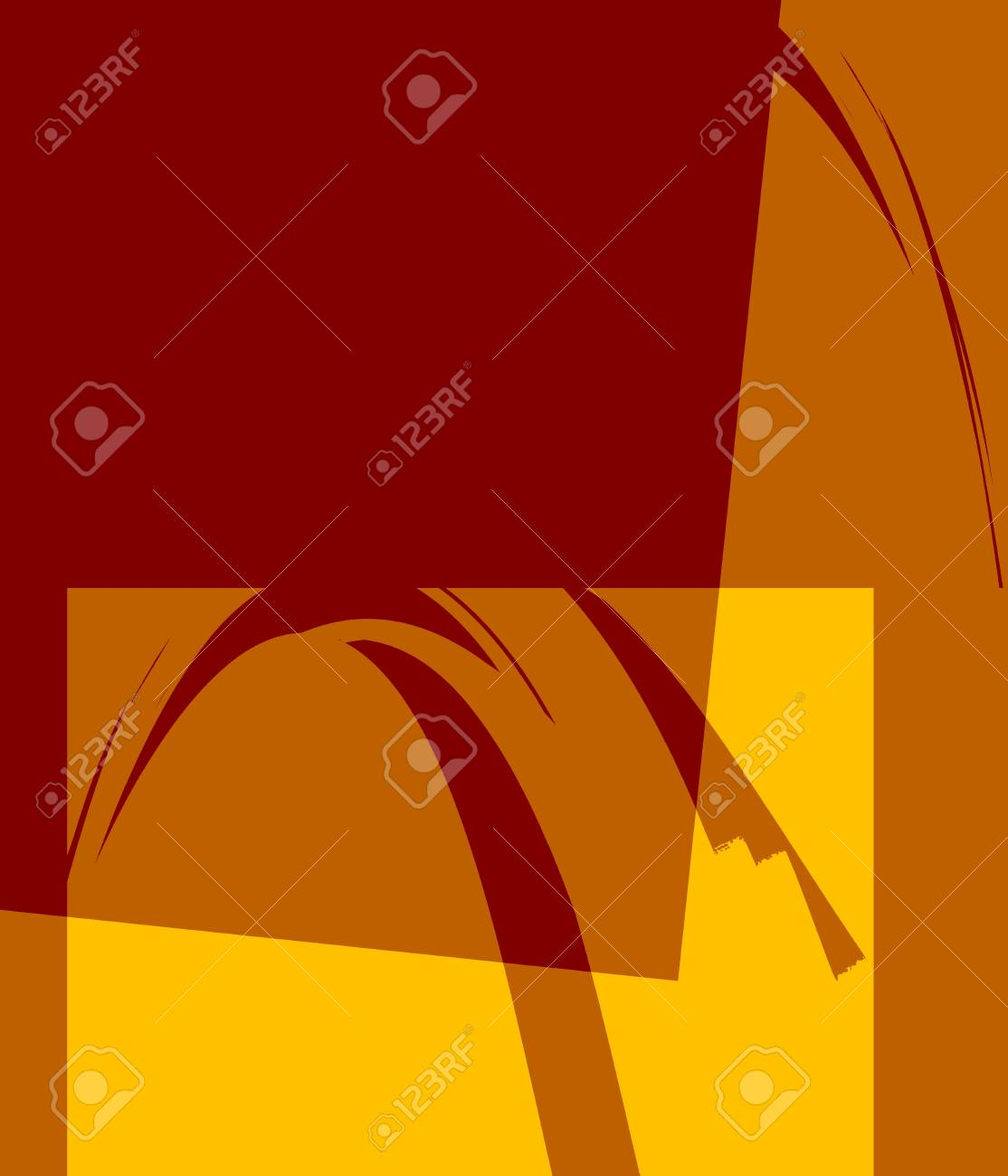 Retro Colorful Abstract Art Deco Stock Photo - 13979900
