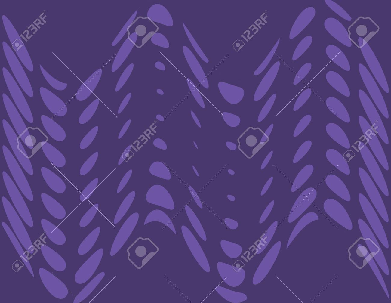 Purple Polka Dots Art Design Abstract Stock Photo - 14112228