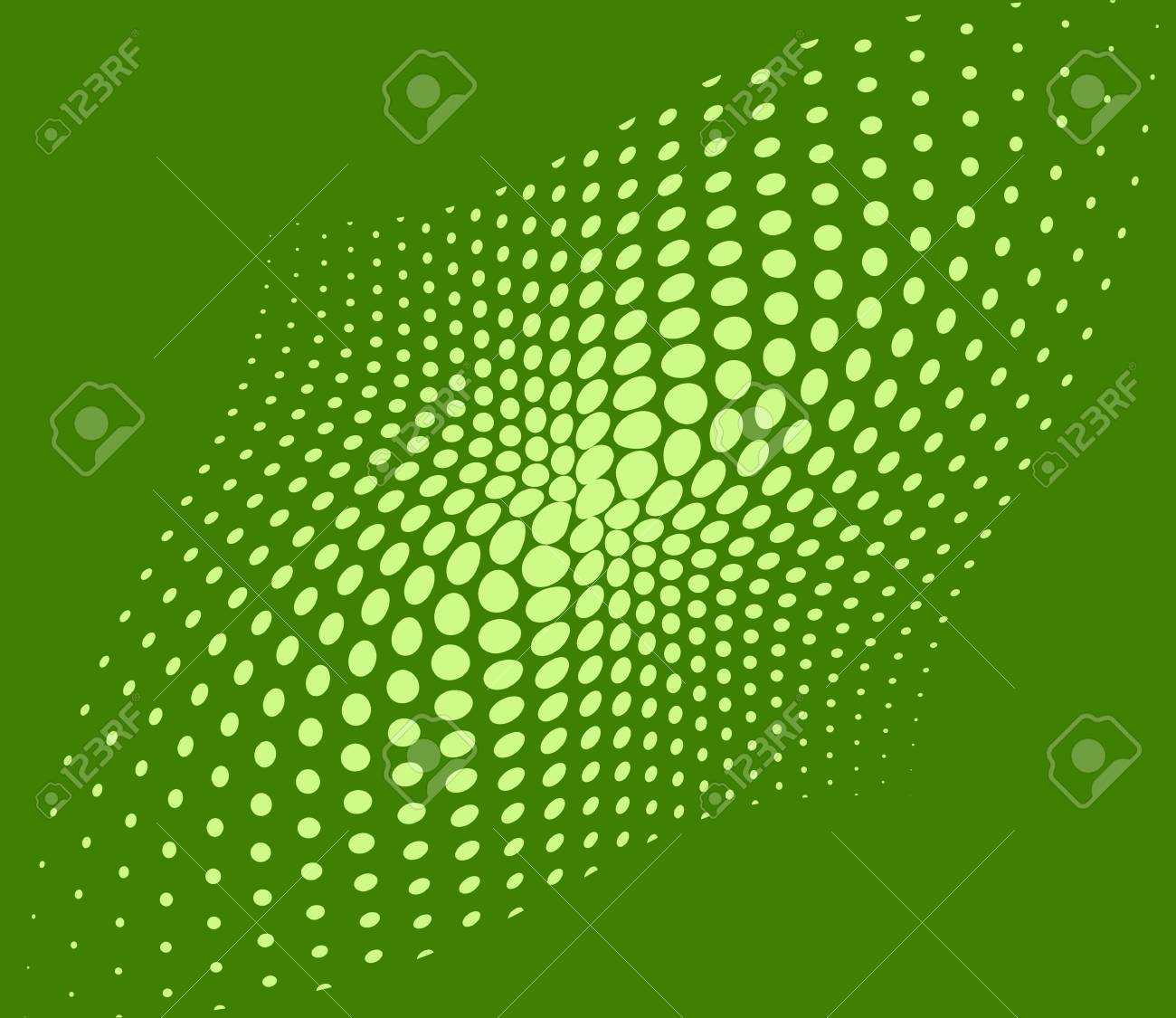 Green techno dots abstract background Stock Photo - 14414664
