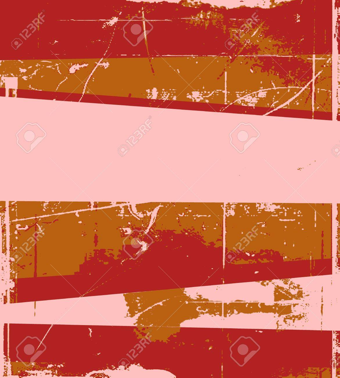 Red retro grunge background Stock Photo - 14510977