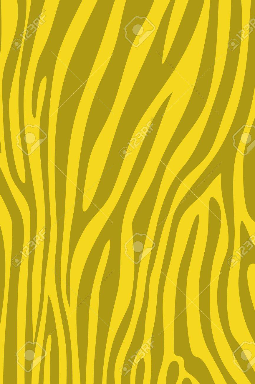 yellow zebra skin animal print pattern stock photo, picture and ... - Animal Pictures Print Color