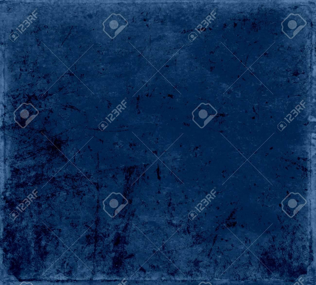 Dark blue wall texture, grunge background Stock Photo - 15731737