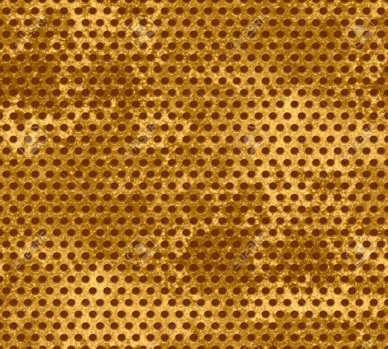 Grunge gold metal mesh background Stock Photo - 15851552
