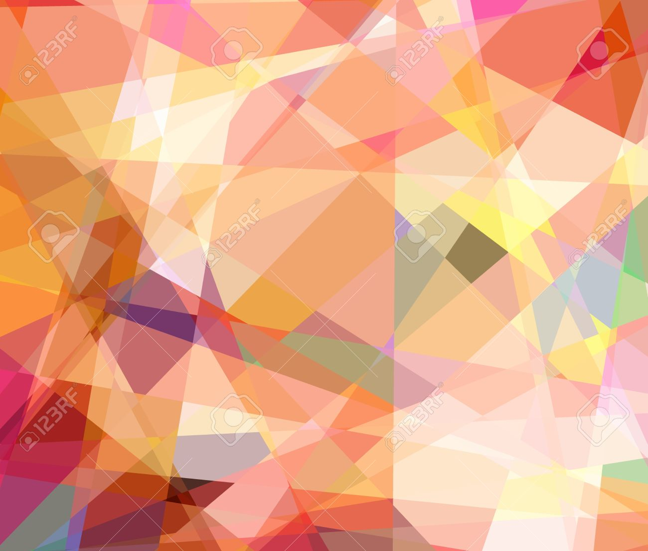 Retro abstract cubism art graphic design background Stock Photo - 15851468