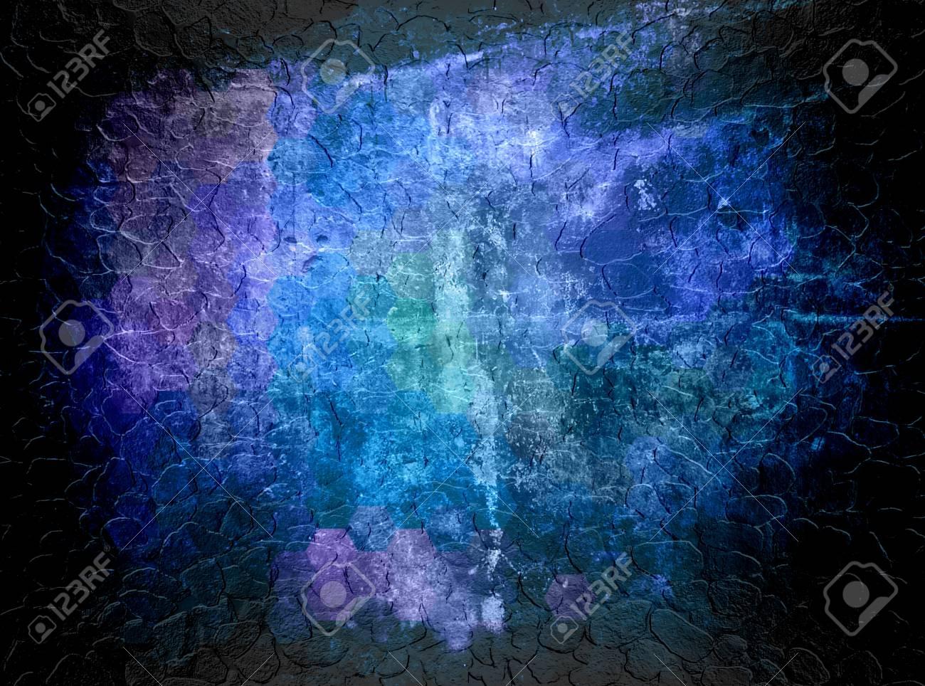 Dark Blue Abstract Art Backgrounds
