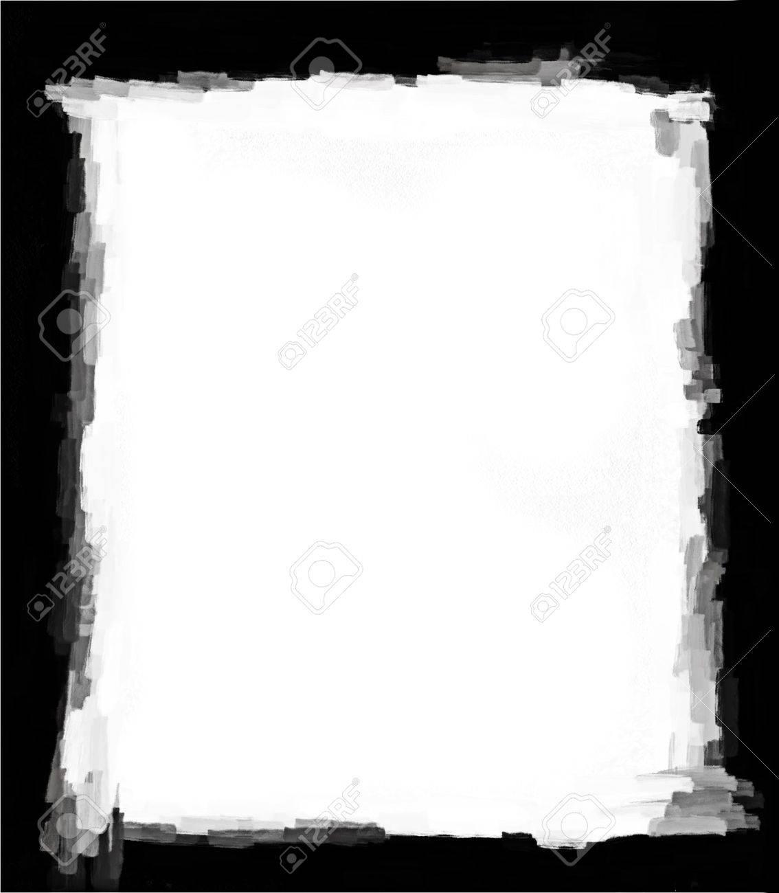 Computer designed grunge border or frame Stock Photo - 17517534