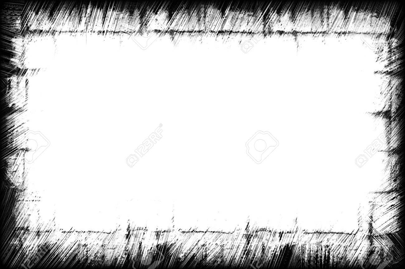 Computer designed grunge border or frame Stock Photo - 17618504