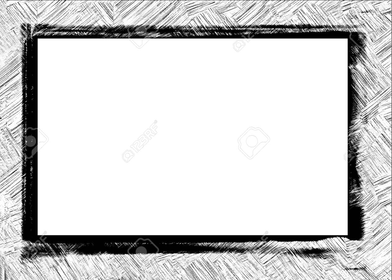 Computer designed grunge border or frame Stock Photo - 17618511