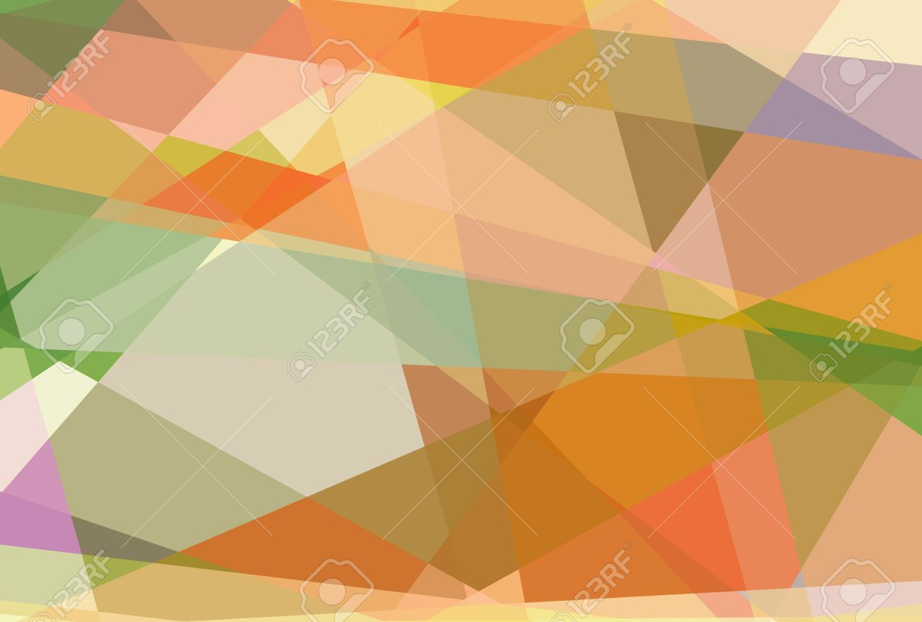 Retro Abstract Cubism Art Graphic Design Background Stock Photo ...