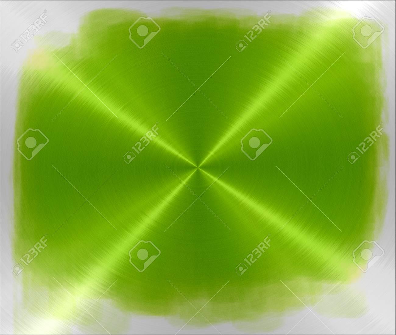 Metallic metal green texture background Stock Photo - 18319108