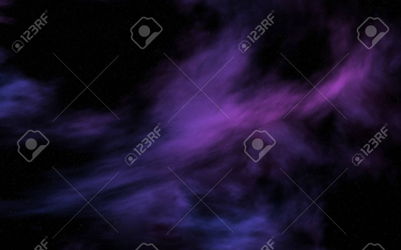 cosmic infinity with nebulae and stars - 95466375