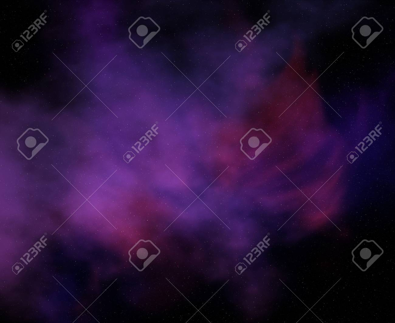 cosmic infinity with nebulae and stars - 95516012
