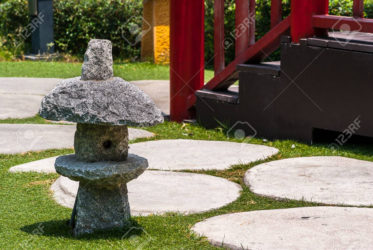 japanese outdoor lighting. Japanese Stone Lanterns,Outdoor Garden Lighting Japan Style Stock Photo - 60118423 Outdoor L