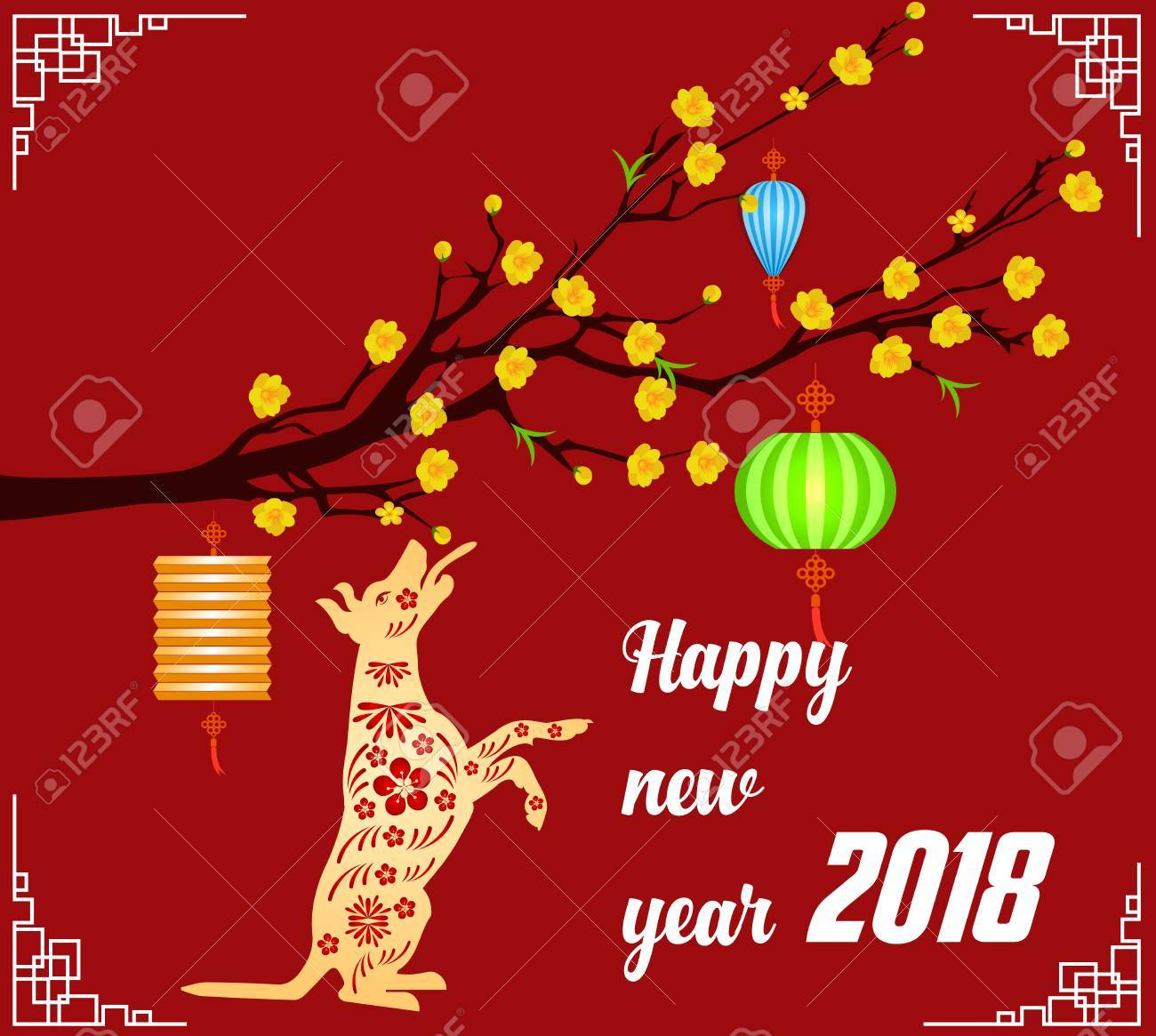 Asian new year 2018