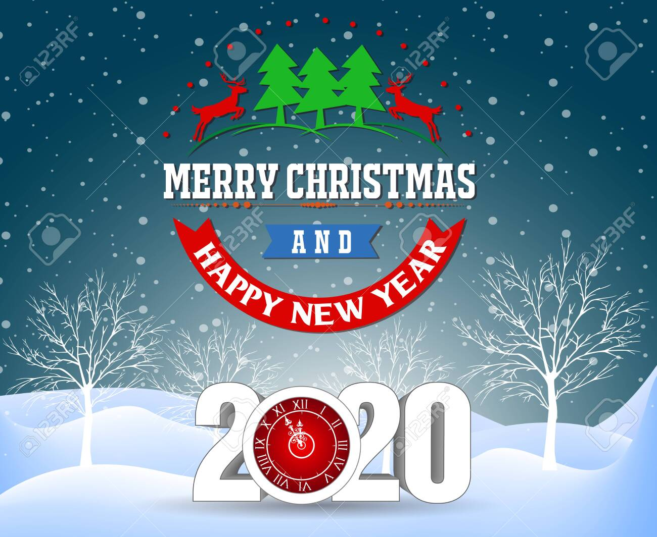 Merry Christmas Images 2020.Merry Christmas And Happy New Year 2020