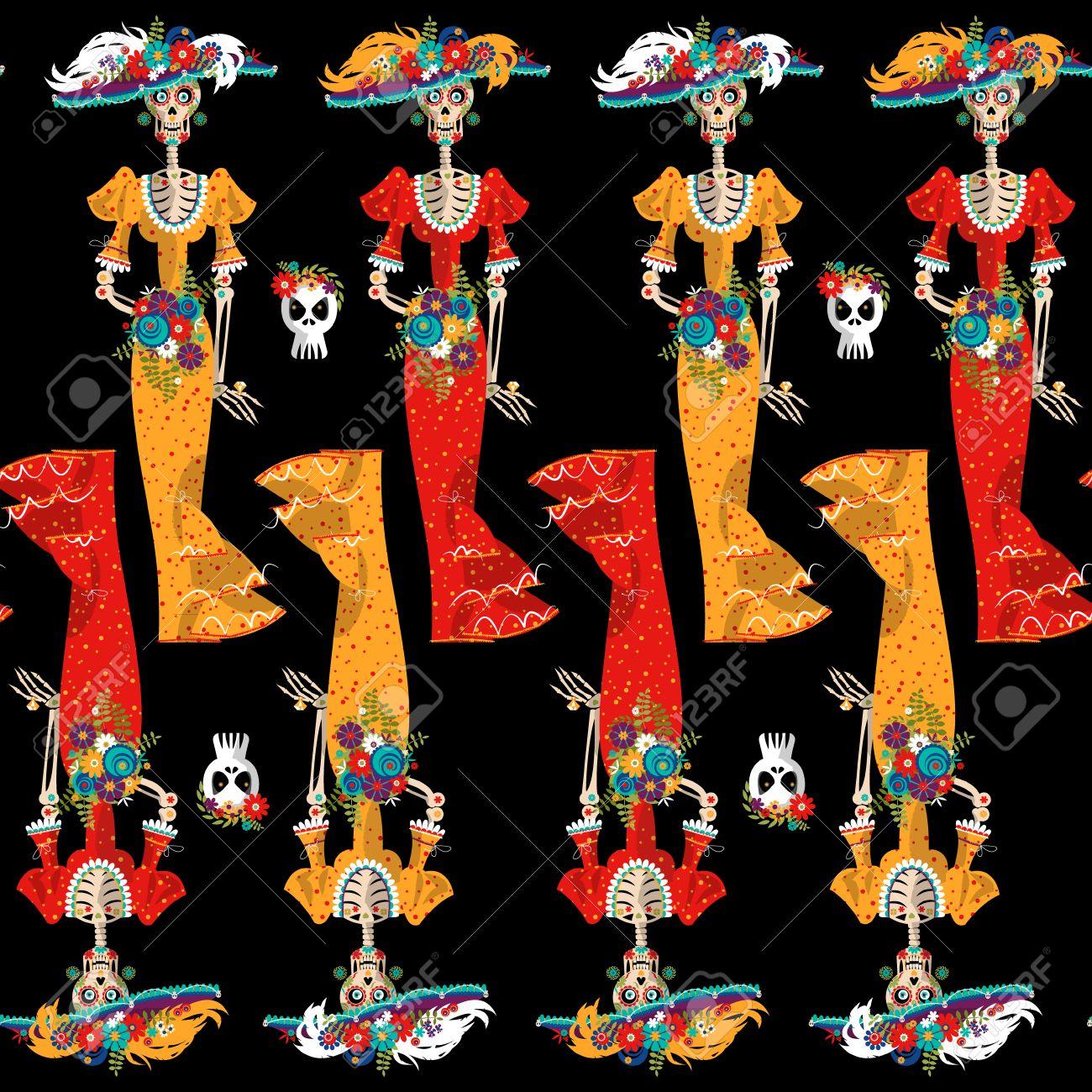 La Calavera Catrina Day Of The Dead Human Skull Symbolism - Transparent  Background Sugar Skull Clipart, HD Png Download - kindpng