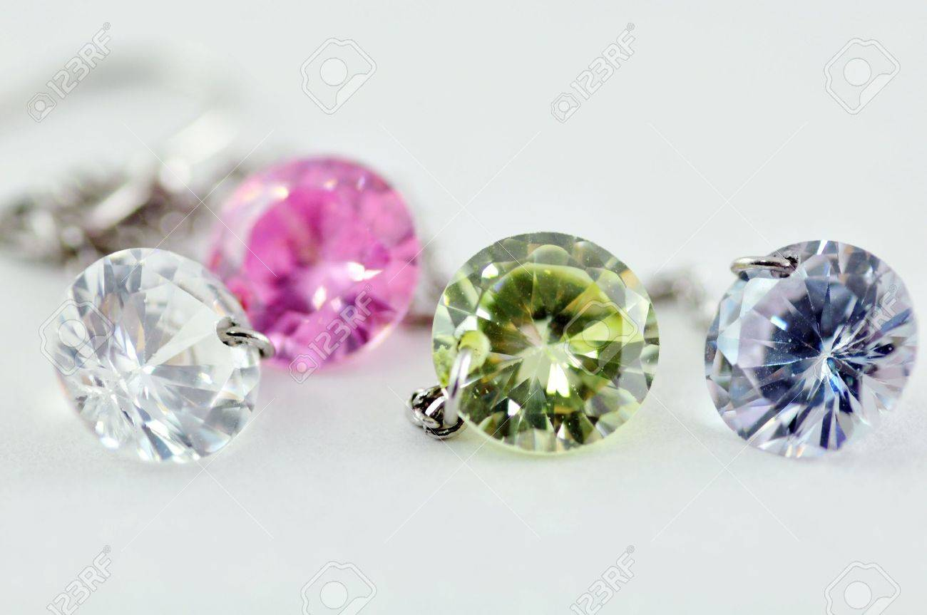 Colorful Crystal Stock Photo - 18317134
