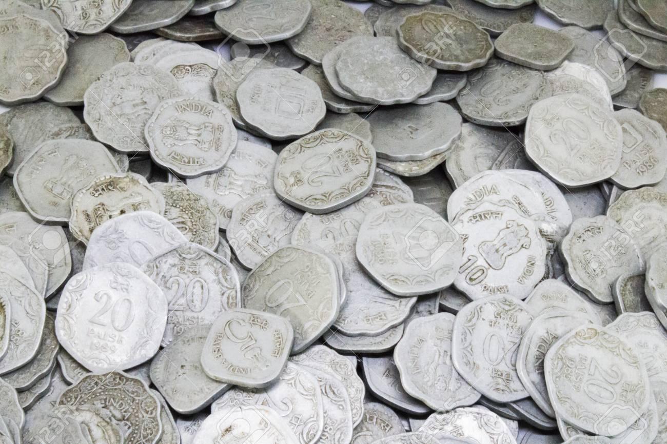 Alte Indische Münzen Lizenzfreie Fotos Bilder Und Stock Fotografie