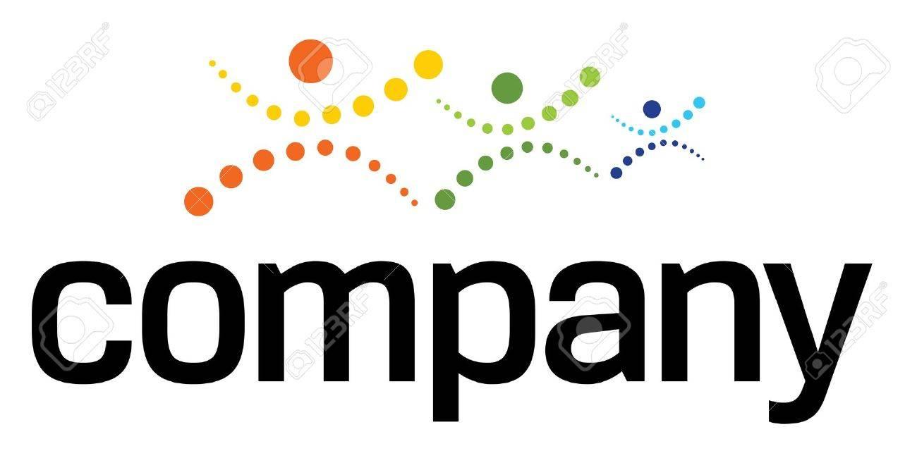 Logo for Healthcare fitness training Stock Vector - 9643114
