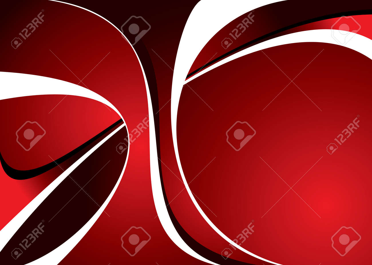 Abstract red and black background with room to add text Stock Vector - 2595337