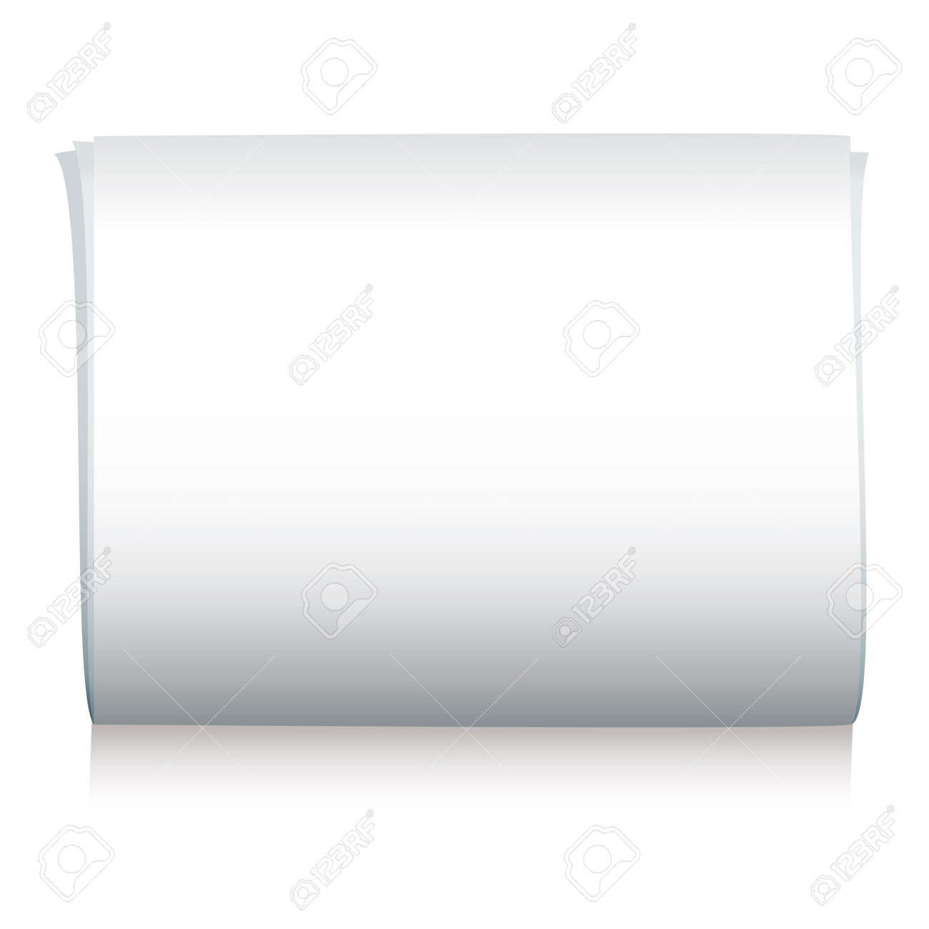 Blank illustrated newspaper with room to add your own copy Stock Vector - 4504845