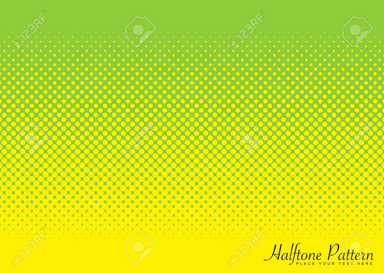 Resumen De Medios Tonos Verde Y Amarillo La Imagen De Fondo Con - Tonos-verde