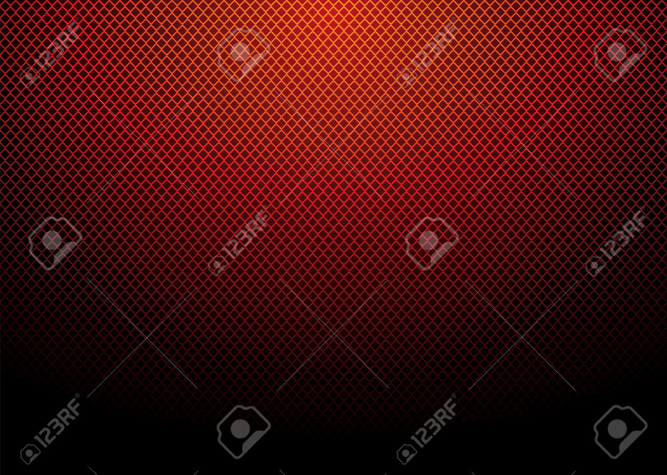 Abstract diamond material background with bright red glow Stock Vector - 6312943