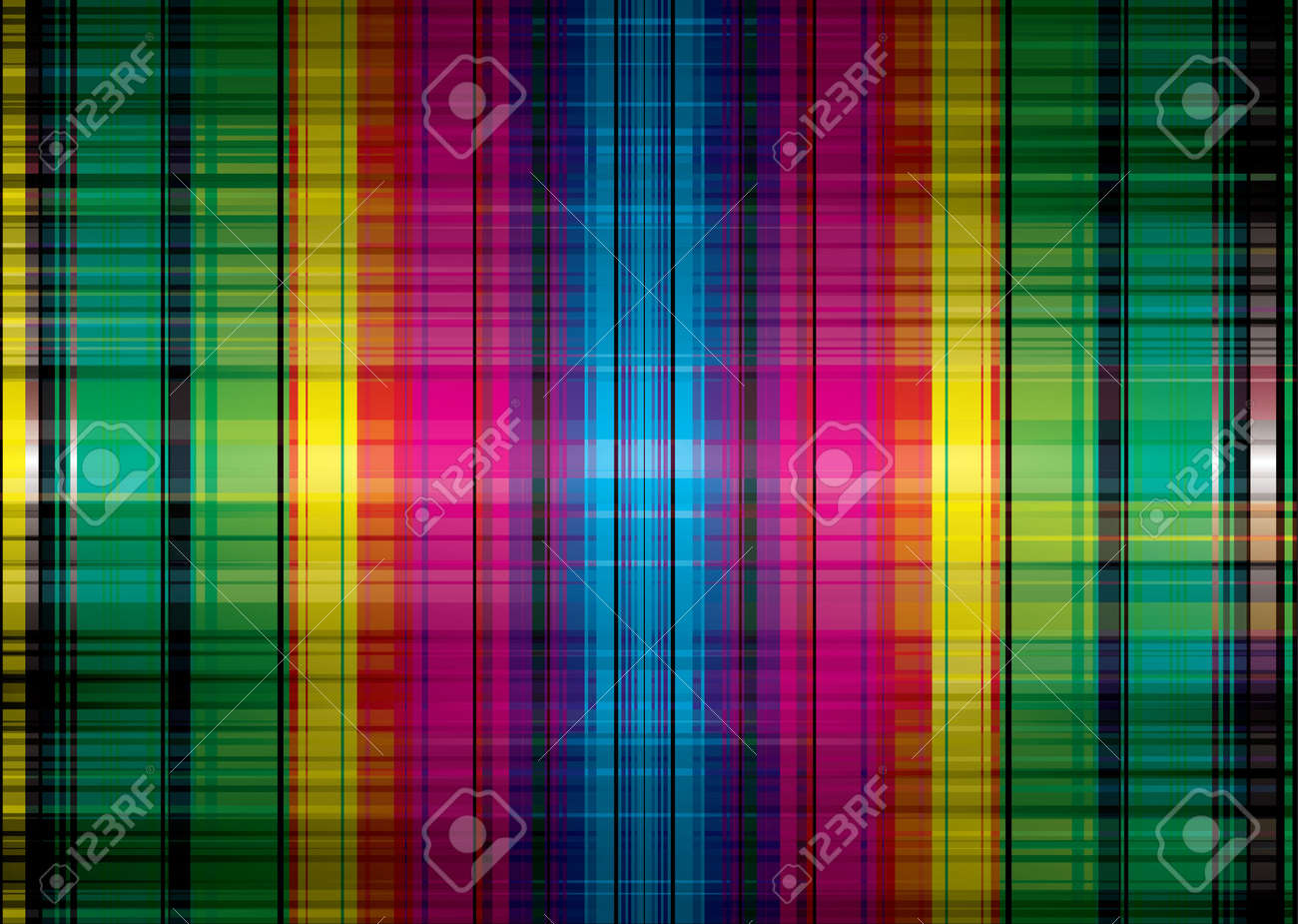 Abstract Rainbow Background With Bright Colors Ideal Wallpaper