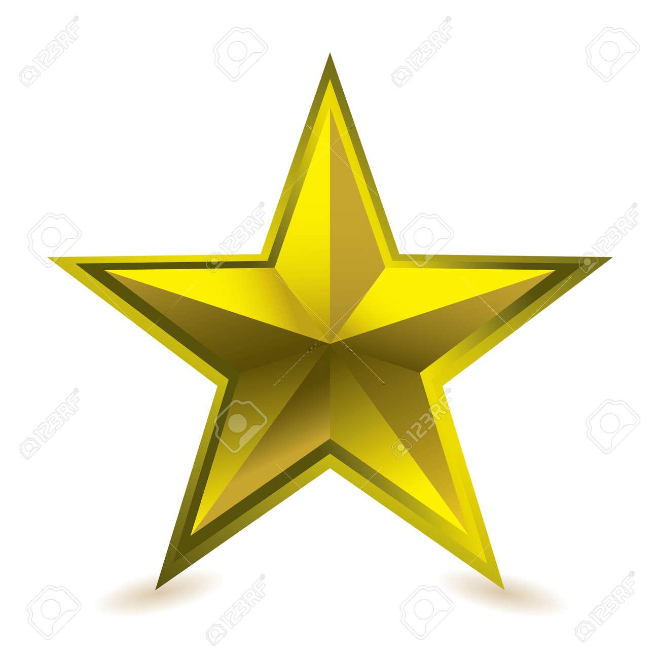 gold star award ideal gift icon for golden performance stock photo rh 123rf com