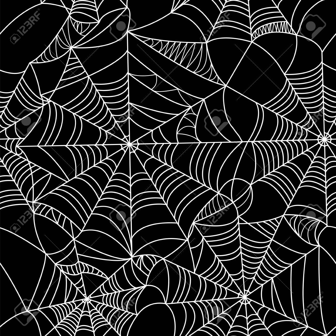 halloween spider web seamless pattern royalty free cliparts vectors