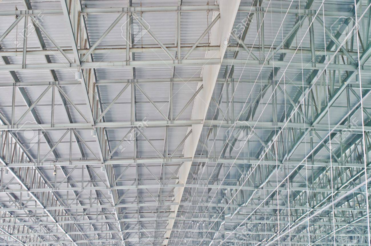 Steel roof construction in Thailand Stock Photo - 12474556