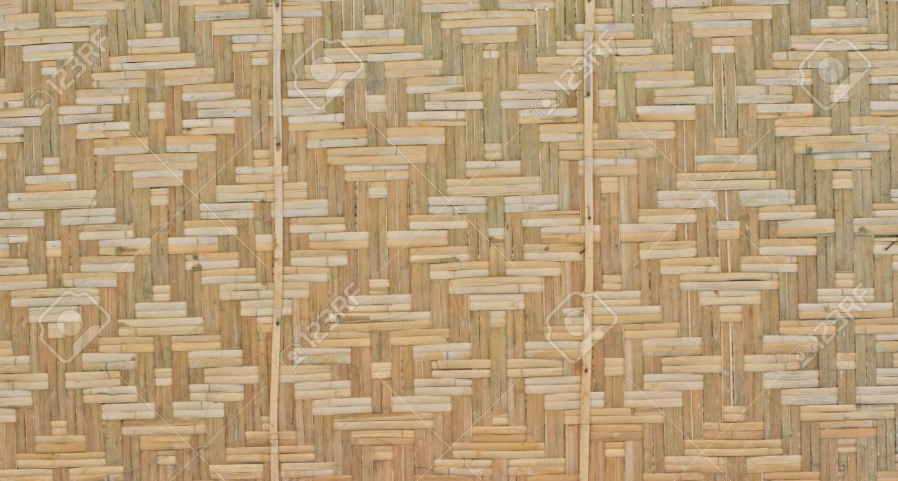 Bambus Gitterwand Mit Der Kultur Südostasiens Lizenzfreie Fotos