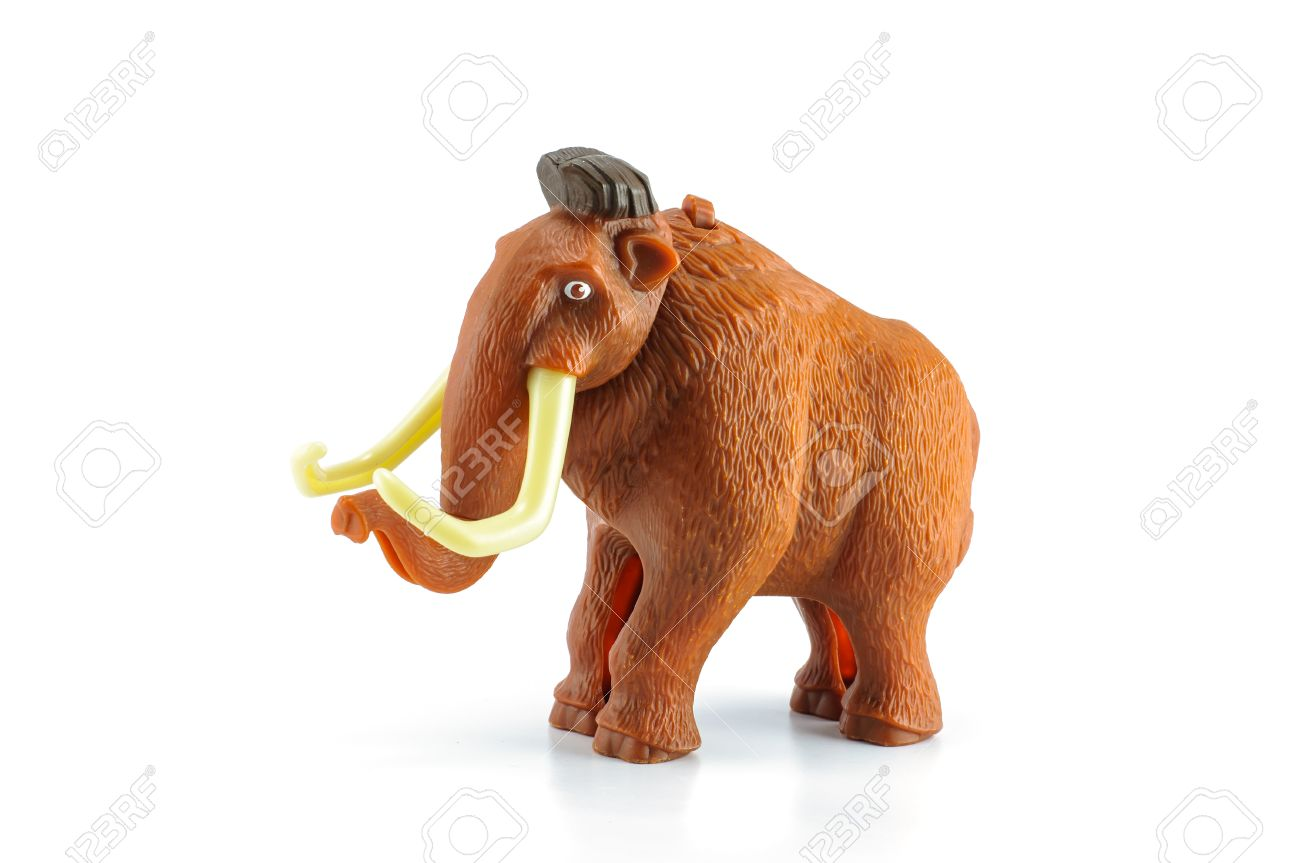 mammut giocattolo  Bangkok, Thailandia - 1 Aprile 2014: Manny è Un Personaggio Mammut ...